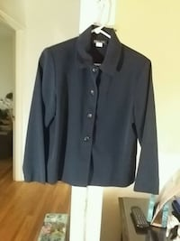 Navy button-up long-sleeved jacket, business Frederick, 21701