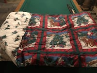 Bedspread Full size Christmas reversible  61 km