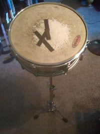 Drum with stand..stand is and 29in tall....