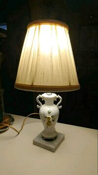 white yellow flower table lamp Hagerstown, 21742