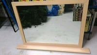 wood framed mirror Cape Coral, 33991