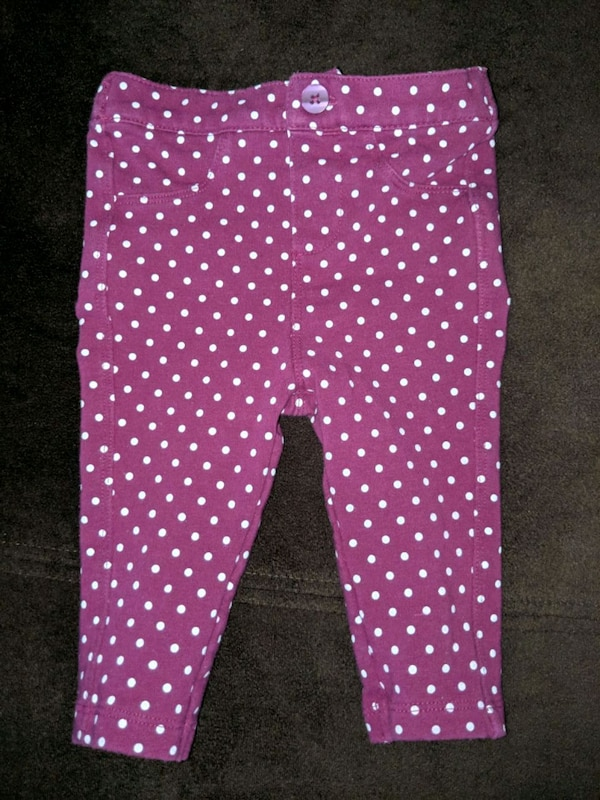 452650c1e979 Used Just like new purple polka dotted pants Cherokee for sale in San Jose  - letgo