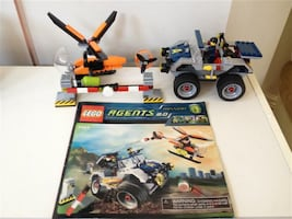 Lego Agents sets gently used