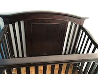 Baby crib coverts to toddler bed and double bed Mississauga, L5N 1Z4