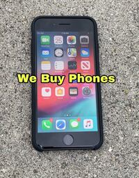 iPhone 8 64gb Unlocked Cracked Front And Back Fully Functional