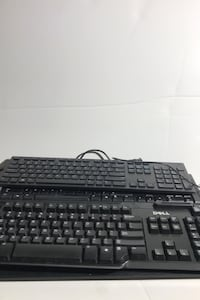 5x Dell wired keyboards