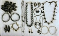 VINTAGE MIXED JEWELRY LOT Charcoal Gray Toronto, M5T 2X9