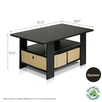 black wooden desk with drawer Seattle, 98102