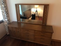 brown wooden dresser with mirror Falls Church, 22041