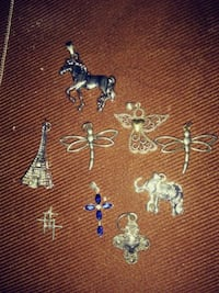 Sterling Silver Charms Macon, 31217