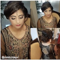 All skintones Wedding makeup&hair Mississauga