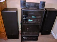Onkyo rack system everything works awesome system St. Louis, 63125