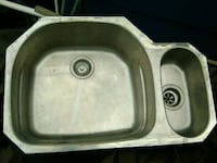 Used 2 months. Stainless steel sink well built Ocean County, 08050
