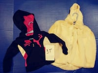 3T girls hoodies