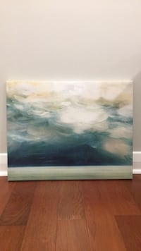 Painting of ocean waves Tampa, 33604