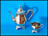 Vintage Tea & Coffee Set, Silver plated Kirkland, H9W 1A7