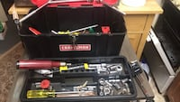 Black and red tool box with tools College Park, 20740