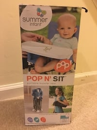 New! Baby booster chair Falls Church, 22043