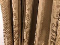 Brown curtains with lining for a window or door custom the fabric is like the 3 rd picture. Vaughan, L4H 3A8