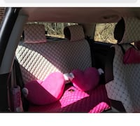 Mini Cooper Seat covers pink and white Rehoboth Beach, 19971