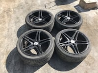 "Mercedes Wheels for sale - sizes 18"" to 20"" multiple sets  Rancho Cordova, 95742"