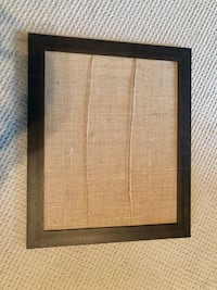Wooden and Burlap photo display (33in x 19in) West Friendship, 21794
