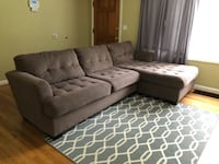 Chaise Sectional Portland