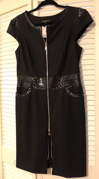 Georges Rech Women's Black Dress New With Tag Size 8