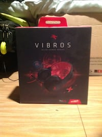VIBROS Elite Gaming Headset with Mic