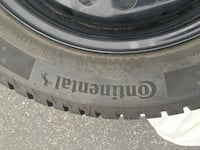 Winter tires and rims continental winter contact si 205/55R16 Mississauga, L5M 7J6