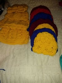 assorted colored knitted caps Hesperia, 92345