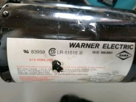 WARNER ELECTRIC ACTUATOR 115 VAC MODEL E-83959 LR-
