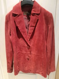Size 6 Raspberry Suede Jacket  Vaughan, L6A 2H6