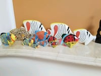 Hand Painted Wood Fish - 12 Pieces left Great Falls, 22066