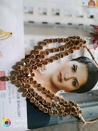 black and brown 33-bead misbaha