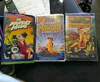 several assorted-title VHS cases Theodore, 36582