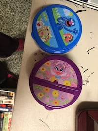 blue and pink Disney Frozen themed potty trainer Gaithersburg, 20877