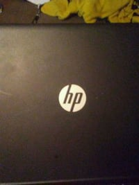black and white HP laptop Nitro, 25143