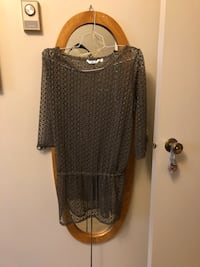 Women's Caki green cover up.