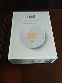 Brand New Nest E Smart Thermostat with WiFi  Toronto, M9A 2V5