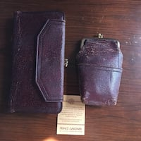 Vintage Genuine Leather Baronet Wallet and Pouch Arlington, 76016