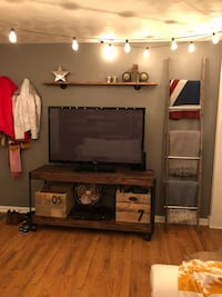 Industrial Cart Console Table Rolling TV Stand Entryway Table Entertainment Center Martinsburg, 25405