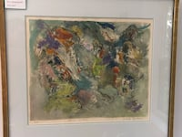 "Yehuda Jordan ""Spring Weather"" beautiful original painting Gaithersburg, 20879"