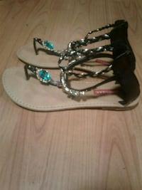leather sandals, union bay. New.Size 8