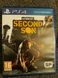 SECOND SON (Ps4 Spiel)