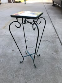 Patio plant stand