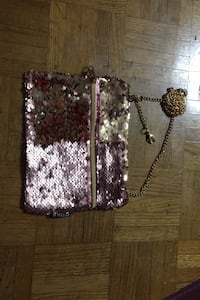 Pink and gold magic sequin bag Toronto, M2R 3G7