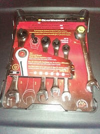 GearWrench 5-piece universal ratcheting wrench set Norfolk, 23513