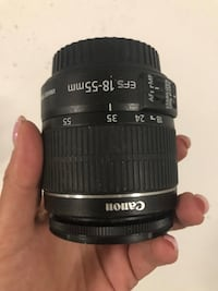 Canon 18-55mm Lens barely used Toronto, M9W 0C6