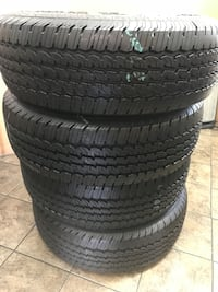 275/70/18 set of 4 semi new continental tires Whittier, 90605